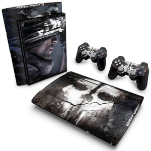 PS3 Super Slim Skin - Call of Duty Ghosts