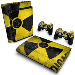 PS3 Super Slim Skin - Radioativo