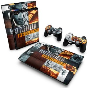 PS3 Super Slim Skin - Battlefield Hardline