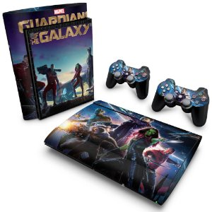PS3 Super Slim Skin - Guardioes da Galaxia