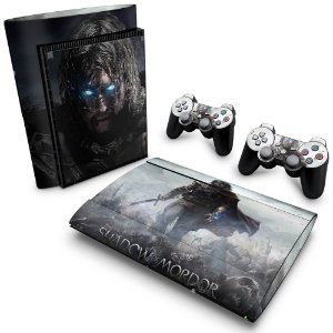 PS3 Super Slim Skin - Middle Earth: Shadow of Murdor
