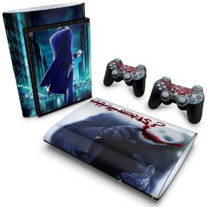 PS3 Super Slim Skin - Coringa Joker #A