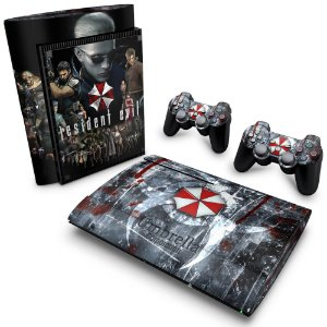 PS3 Super Slim Skin - Resident Evil - Umbrella