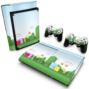 PS3 Super Slim Skin - Super Mario Bros.