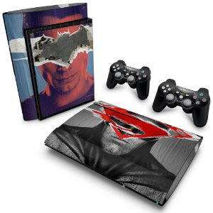 PS3 Super Slim Skin - Batman vs Superman