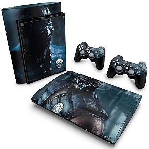 PS3 Super Slim Skin - Mortal Kombat X Subzero