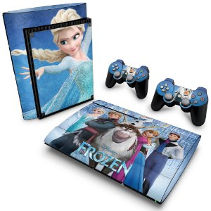 PS3 Super Slim Skin - Frozen