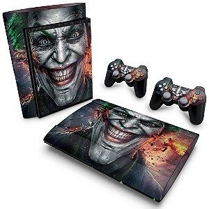 PS3 Super Slim Skin - Coringa Joker #B