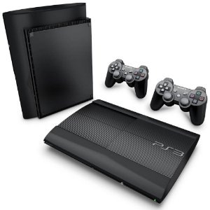 PS3 Super Slim Skin - Transparente