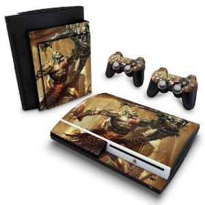 PS3 Fat Skin - God of War 3 #A