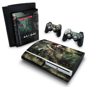 PS3 Fat Skin - Metal Gear Solid 4