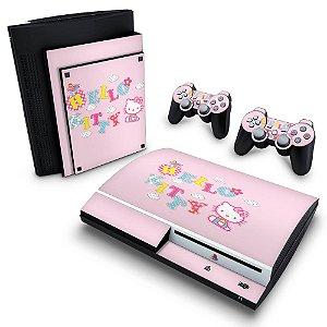 PS3 Fat Skin - Hello Kitty