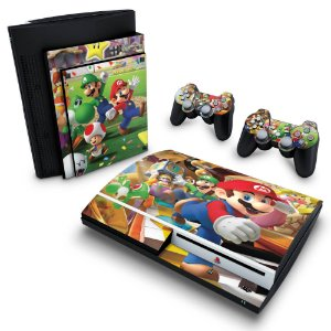PS3 Fat Skin - Super Mario