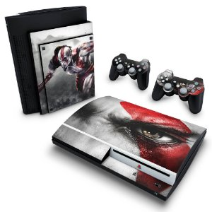 PS3 Fat Skin - God of War 3 #B