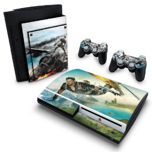 PS3 Fat Skin - Just Cause 2