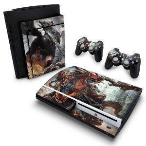 PS3 Fat Skin - Darksiders Wrath of War