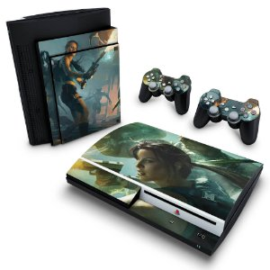 PS3 Fat Skin - Lara Croft and the Guardian of Light