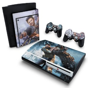 PS3 Fat Skin - Uncharted 2