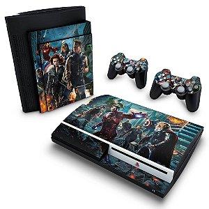 PS3 Fat Skin - The Avengers - Os Vingadores