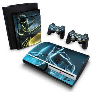 PS3 Fat Skin - Tron Evolution