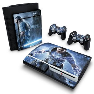 PS3 Fat Skin - Star Wars The Force Unleashed