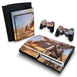 PS3 Fat Skin - Uncharted 3
