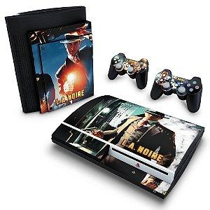 PS3 Fat Skin - L.A. Noire