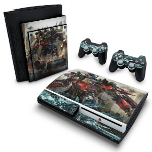 PS3 Fat Skin - Transformers Dark of the Moon