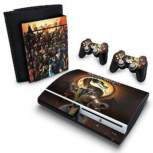 PS3 Fat Skin - Mortal Kombat #A