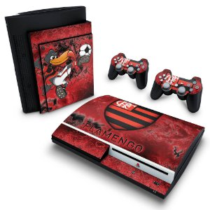 PS3 Fat Skin - Flamengo