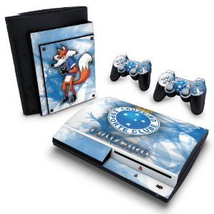 PS3 Fat Skin - Cruzeiro