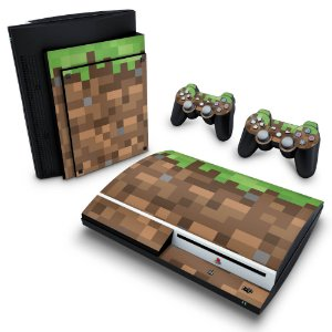 PS3 Fat Skin - Minecraft