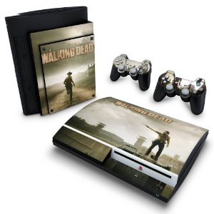 PS3 Fat Skin - The Walking Dead #B