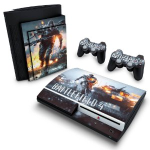 PS3 Fat Skin - Battlefield 4