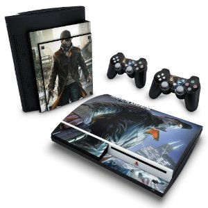 PS3 Fat Skin - Watch Dogs