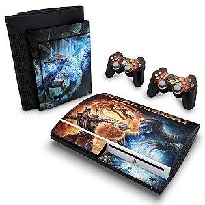 PS3 Fat Skin - Mortal Kombat #B