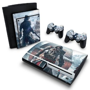 PS3 Fat Skin - Assassins Creed Rogue