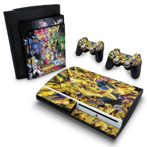 PS3 Fat Skin - Cavaleiros do Zodiaco