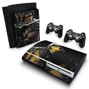 PS3 Fat Skin - Mortal Kombat X Scorpion