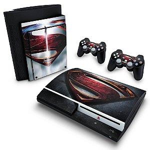 PS3 Fat Skin - Superman - Man of Steel