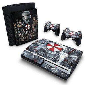 PS3 Fat Skin - Resident Evil - Umbrella