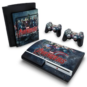PS3 Fat Skin - Vingadores 2: A Era de Ultron
