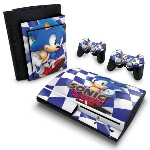 PS3 Fat Skin - Sonic The Hedgehog
