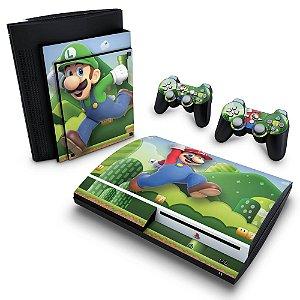 PS3 Fat Skin - Mario & Luigi