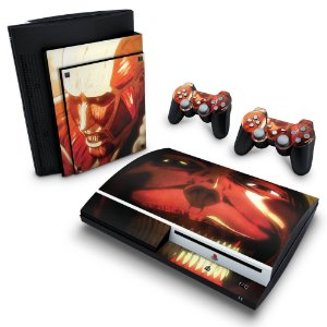 PS3 Fat Skin - Attack on Titan #B