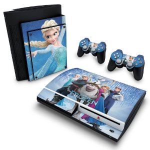 PS3 Fat Skin - Frozen