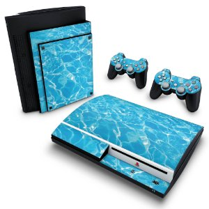 PS3 Fat Skin - Aquático Água