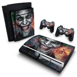 PS3 Fat Skin - Coringa Joker #B