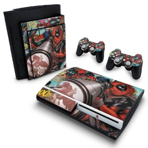 PS3 Fat Skin - Deadpool