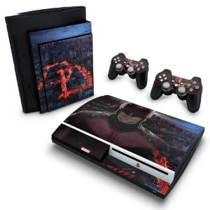 PS3 Fat Skin - Daredevil Demolidor